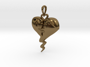 The Sprite Of Love in Polished Bronze