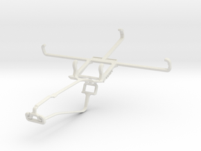 Controller mount for Xbox One Chat & Asus Zenfone  in White Natural Versatile Plastic
