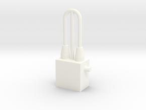 PN Wessex Nose Aerial in White Processed Versatile Plastic
