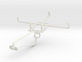Controller mount for Xbox One Chat & Vertu Signatu in White Natural Versatile Plastic