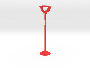 Tall Horde Bird perch in Red Strong & Flexible Polished