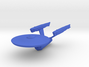 Constitution Class (Phase II) 1/4800 Attack Wing in Blue Strong & Flexible Polished