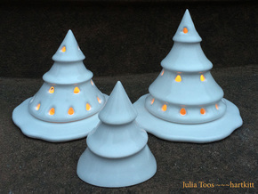 Snow Skirt for Holiday Tree Lumieres in Gloss White Porcelain