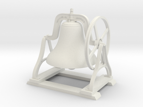 Bell 1 5Inch in White Strong & Flexible
