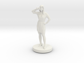 Printle C Femme 023- 1/56 in White Strong & Flexible