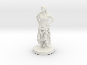 Printle C Femme 026- 1/56 in White Strong & Flexible
