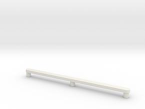 Drawer Glide Mid-Century Modern Danish Credenza in White Natural Versatile Plastic