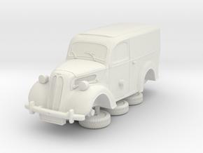 1-64 Ford Anglia E494a Van in White Natural Versatile Plastic