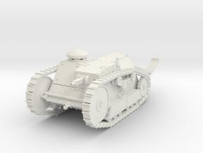 PV16B M1918 Ford Three Ton Tank (1/48) in White Natural Versatile Plastic