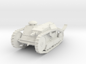 PV16 M1918 Ford 3-Ton Tank (28mm) in White Natural Versatile Plastic