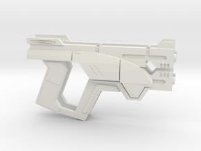 M3 Predator Pistol Prop/Replica  in White Natural Versatile Plastic