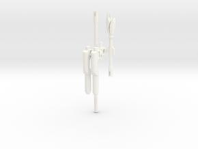 TR: Sentinel's Justice Set in White Processed Versatile Plastic