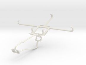 Controller mount for Xbox One Chat & Lenovo Golden in White Natural Versatile Plastic