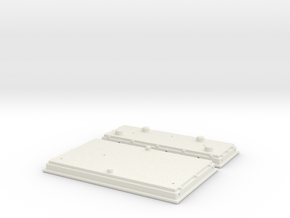 UP PTC Array (G - 1:29) in White Natural Versatile Plastic