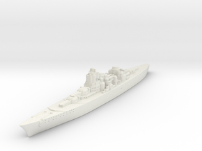 O-class German Battlecruiser (GW36 Scale) in White Strong & Flexible