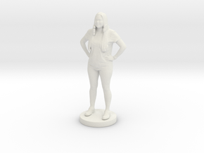Printle C Femme 043- 1/56 in White Strong & Flexible