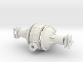 Halibrand Quick Change 1/8 in White Natural Versatile Plastic