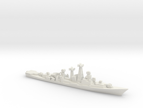 Kashin-Mod class destroyer, 1/1800 in White Natural Versatile Plastic