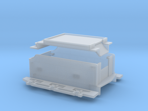 Tv1 Tender Assy in Smooth Fine Detail Plastic