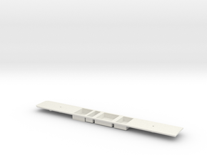 S Stock DM Chassis in White Natural Versatile Plastic