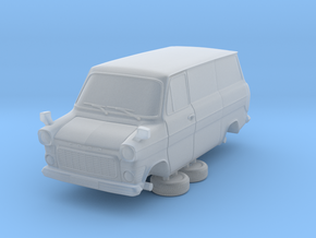1-87 Ford Transit Mk1 Short Base Van (repaired) in Smooth Fine Detail Plastic