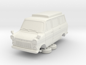 1-76 Ford Transit Mk1 Short Base Camper Van in White Strong & Flexible