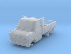 1-76 Ford Transit Mk1 Short Base Pickup Truck in Smooth Fine Detail Plastic