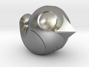 Flight Mode Mini in Natural Silver