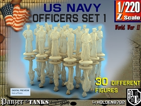 1-220 USN Officers Set 1 in Smoothest Fine Detail Plastic