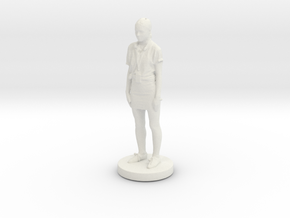 Printle C Femme 070- 1/43 in White Strong & Flexible