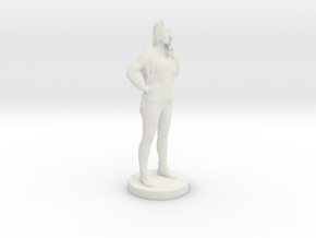 Printle C Femme 071- 1/48 in White Strong & Flexible