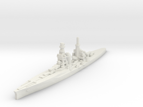 Zara class heavy cruiser 1/1800 in White Natural Versatile Plastic