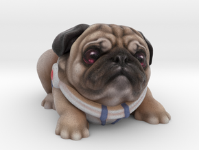 Alien Puggy in Full Color Sandstone