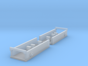 """Atlas O Scale 0.300"""" Coupler Box in Frosted Ultra Detail"""
