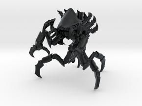 Zyklopsassel  01 in Black Hi-Def Acrylate