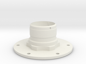 Apollo A7L Electrical Connector in White Natural Versatile Plastic