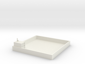 Toit 10x10 Petit Magasin Us in White Strong & Flexible
