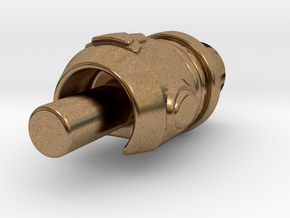 Arm Cannon in Natural Brass