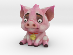 Poor Piggy in Full Color Sandstone