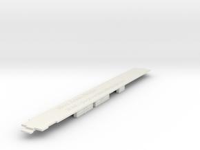 HO Diner underframe in White Strong & Flexible