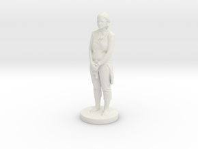 Printle C Femme 083-1/43 in White Strong & Flexible