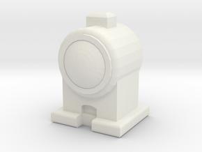 CGI HEAD LAMP 00/HO Scale in White Natural Versatile Plastic