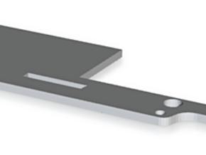 CMAX+D90 RAFFEE INNER Battery Tray One Side in Black Natural Versatile Plastic