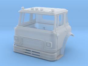 1/64 (S-scale) International Cargostar Cab in Smooth Fine Detail Plastic