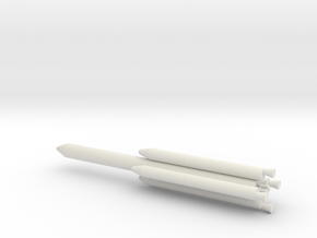 1/200 Scale Titan III L4 Rocket in White Natural Versatile Plastic