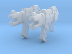 TF Gun Gunslinger x2 in Smooth Fine Detail Plastic