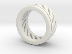 Simple - Fidget (Spin) Ring in White Strong & Flexible: 7 / 54