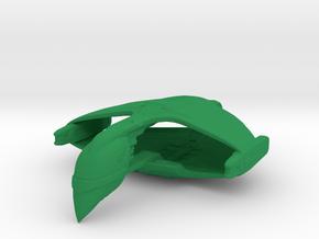 Romulan D'deridex Class Warbird 1/15000 in Green Processed Versatile Plastic