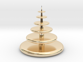 Christmas Tree in 14K Yellow Gold