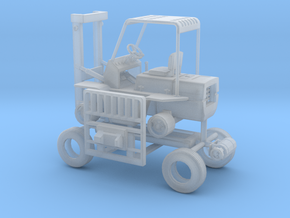 1/87th Hyster Type Forklift in Smooth Fine Detail Plastic